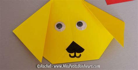 jeux de cuisine de 2012 chien en pliage origami facile activité papier à faire