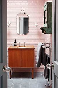 17 meilleures idees a propos de salle de bains With miroir salle de bain biseauté