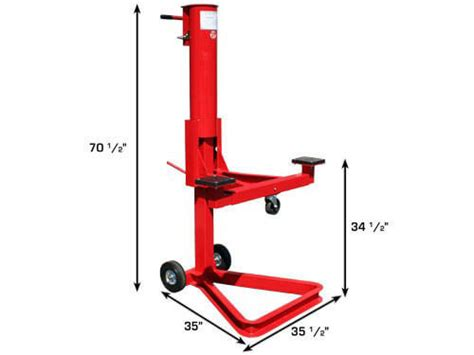 2,500 Lb. Capacity Air Bumper Jack