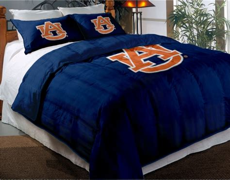 auburn tigers college twin chenille embroidered comforter