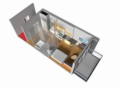 Apartment Ride Cut Micro Tiny Typical Away