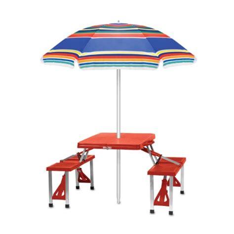 picnic time outdoor sunshade umbrella multi color stripe