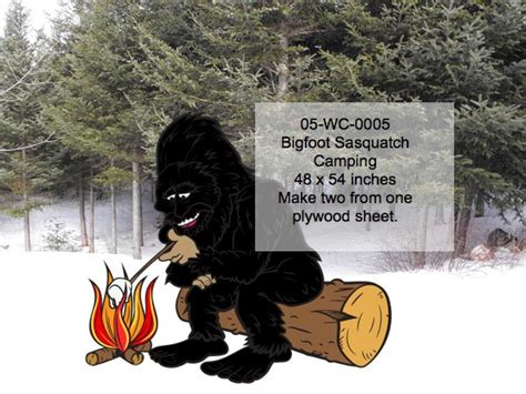 bigfoot loves camping woodchuckcanuckcom