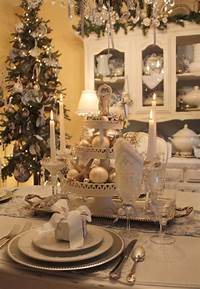 table decorations for christmas 20 Christmas Table Setting Design Ideas   Home Design Lover