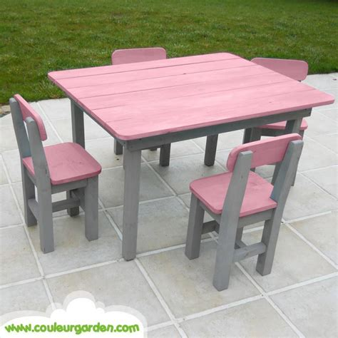 table chaise enfants table pour enfant