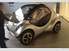 Cars of the future They're going to be tiny and weird