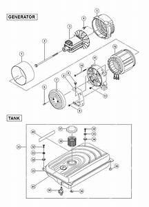 Hitachi E71 Parts List