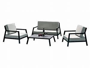 Table Basse Jardin Metal : salon de jardin modena 1 canap 2 fauteuils 1 table basse 55310 ~ Teatrodelosmanantiales.com Idées de Décoration