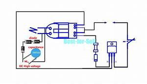 15kv High Voltage Inverter Generator Spark Arc Ignition