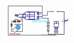 High Voltage Pulse Booster Module Arc Igniter Coil 3 7v