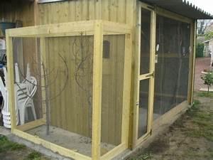 Fabrication D Une Voliere Exterieur : construire une voliere exterieur en bois ~ Premium-room.com Idées de Décoration