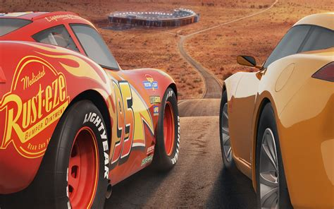 Cars 3 Lightning Mcqueen Cruz Ramirez 4k Wallpapers Hd