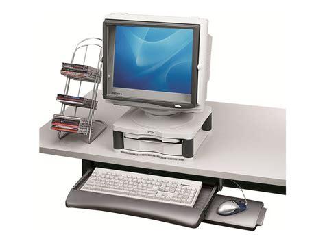 tiroir clavier sous bureau fellowes underdesk keyboard manager tiroir pour clavier