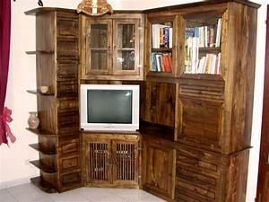 Meuble D Angle Salon : meuble d 39 angle de salon ~ Teatrodelosmanantiales.com Idées de Décoration