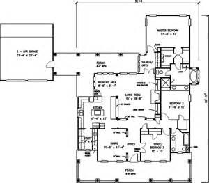 open floor plan farmhouse architectural designs