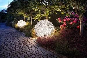 Gartenbeleuchtung Solar Kugel : gartenbeleuchtung kugellampen ~ Sanjose-hotels-ca.com Haus und Dekorationen
