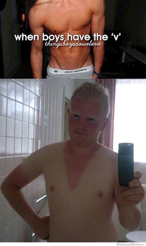 Hot Men Memes - when boys have the v meme collection