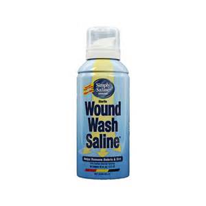 Wound Wash Saline Solution