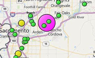 smud reports large outage  carmichael fox