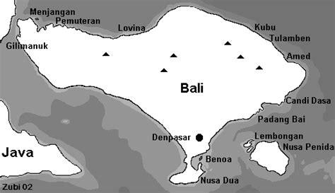 map  dive sites  bali menjangan nusa penida