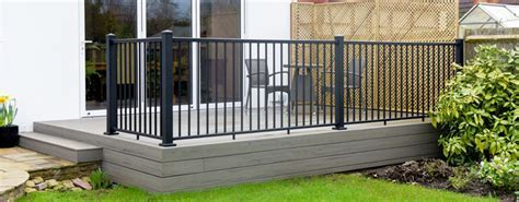 Impression Rail from TimberTech   Aluminium Deck Rail