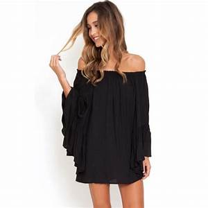 robes fluides hiver With robe noire fluide