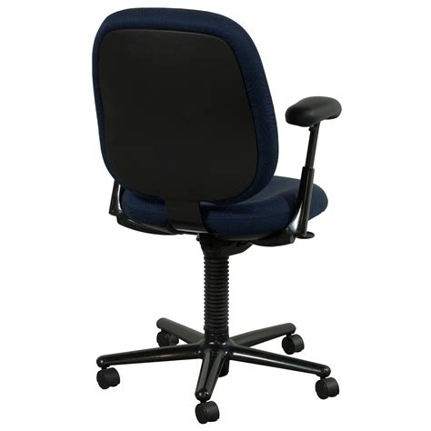 herman miller ergon used high back task chair blue leaf