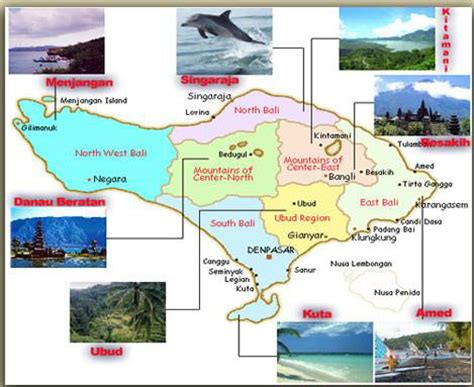 bali tourist map attractions joshymomoorg