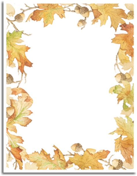 fall paper fall stationery  special