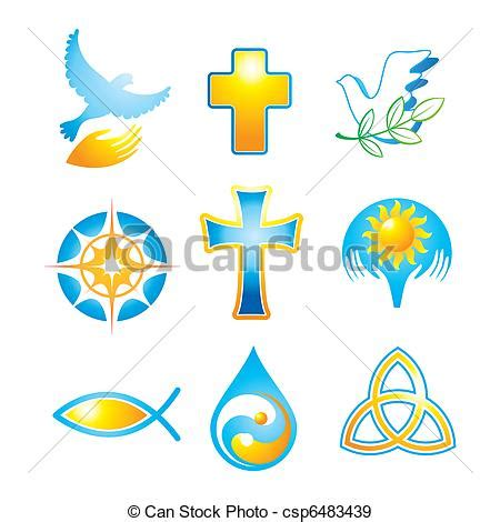 clipart religiose collection religious symbols simboli icone religiose