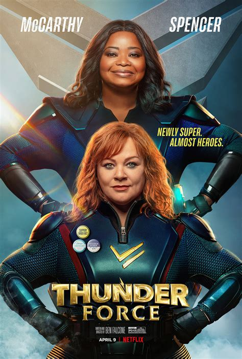 'Thunder Force' Trailer with Melissa McCarthy & Octavia Spencer | FirstShowing.net