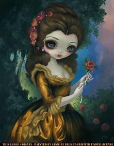 Princess Belle39s Royal Portrait Strangeling The Art Of