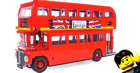 Lego Creator London Bus Speed Build & Review Videos 10258