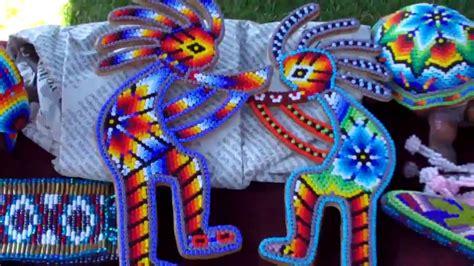 wixaritari huichol art beadwork youtube