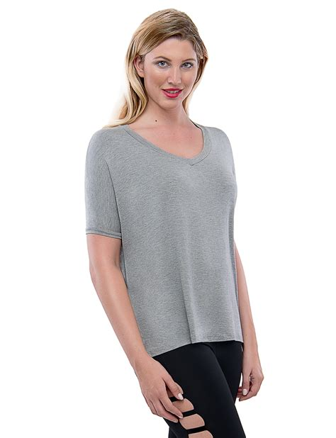 TAM WARE Womens Loose Fit Dolman Sleeve Top T-Shirt ( Made ...