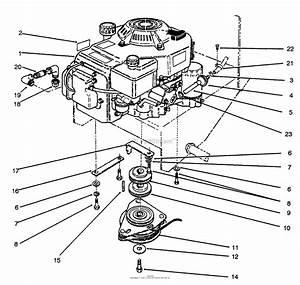 3 4 Engine Diagram Lower Half