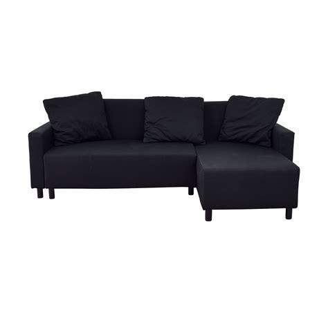 Ikea Sofa Sleeper Sectional by 31 Ikea Ikea Black Sleeper Chaise Sectional With