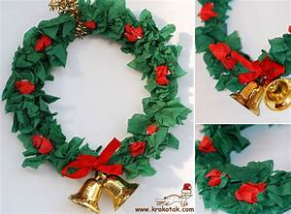 krokotak DIY Christmas Wreath