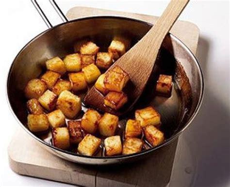 sauteed potatoes  bacon lardons persillade recipe