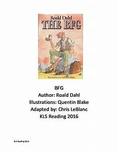 bfg roald dahl adapted book chapter summary review With roald dahl book review template
