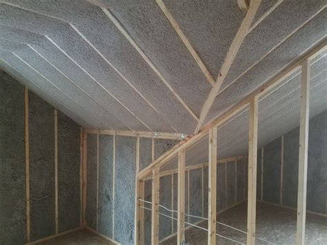 Ceiling Attic by Blown In Insulation Attic Walls Floors Ceilings