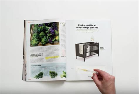 Ikea Küchenfronten Test by Ikea Magazine Ads Come With A Pregnancy Test Business