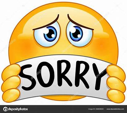 Sorry Emoticon Sign Illustration Vector Sad Yayayoyo