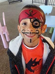 Maquillage Pirate Halloween : maquillage pirate garcon facile ~ Nature-et-papiers.com Idées de Décoration