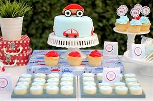 Little Red Car 1st Birthday Party {Guest Feature