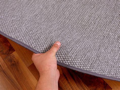 teppich bentzon flachgewebe silber rund   groessen