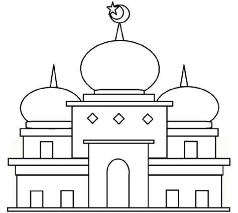 tema gambar mewarnai ramadhan ceria 2021