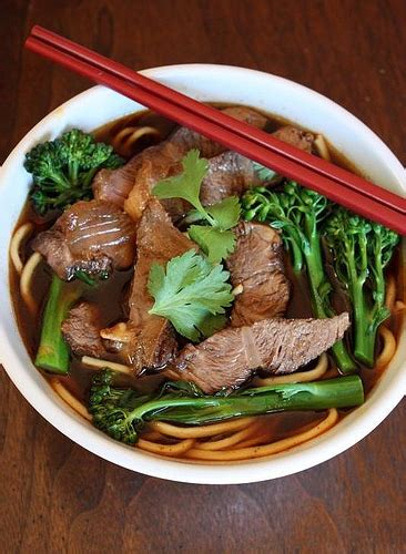 taiwanese spicy beef noodle soup recipe niu rou mian