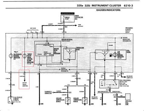 E30 325i Wiring Diagram by Check Engine Light No Fault Codes R3vlimited Forums