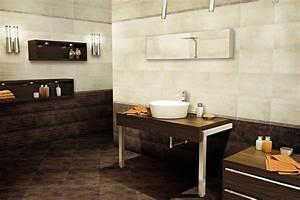 revgercom decorer salle de bain marron idee With salle de bain design avec mug blanc à décorer pas cher